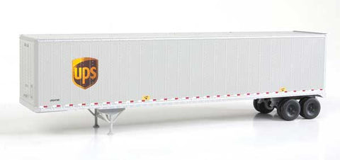 HO Scale Walthers SceneMaster 949-2256 UPS United Parcel Service w/Shield Logo 48' Stoughton Trailers