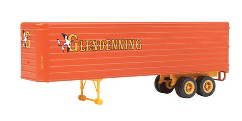 HO Scale Walthers SceneMaster 949-2421 Glendenning Fluted-Side 35' Trailers