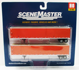 HO Scale Walthers SceneMaster 949-2456 Schneider National 53' Stoughton Trailers