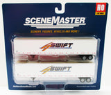 HO Scale Walthers SceneMaster 949-2457 Swift 53' Stoughton Trailers