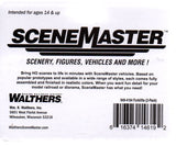 HO Scale Walthers Scene Master 949-4164 Yellow Forklift 2-Pack