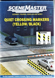 HO Scale Walthers SceneMaster 949-4168 Quiet Crossing Lane Markers Kit