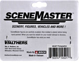 HO Scale Walthers SceneMaster 949-6077 Photographers Figure Set pkg (6)
