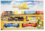 HO Scale Bachmann 735 CN Canadian National Harvest Express Freight Train Set