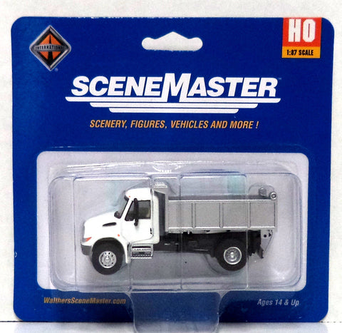 HO Scale Walthers SceneMaster 949-11635 International Single-Axle MOW Dump Truck