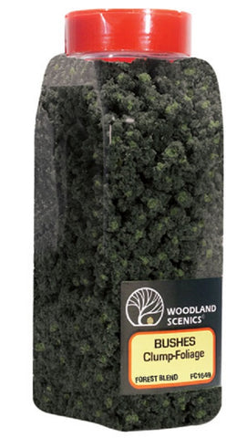 Woodland Scenics FC1649 Forest Blend Bushes Shaker 57.7 cu in (945 cu cm)