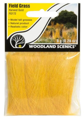 Woodland Scenics FG172 Harvest Gold Field Grass 8g