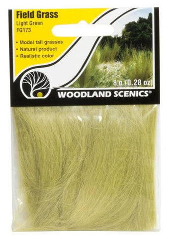 Woodland Scenics FG173 Light Green Field Grass 8g