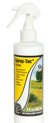 Woodland Scenics FS645 Field System Spray-Tac Adhesive 8 oz Bottle