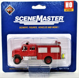 HO Scale Walthers SceneMaster 949-11893 International First Response Fire Truck