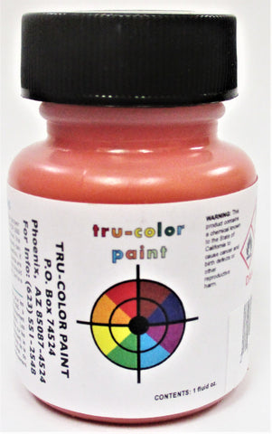 Tru-Color TCP-307 CHSY Chessie System Vermillion Red-Orange 1 oz Paint Bottle