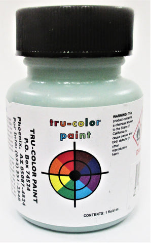 Tru-Color TCP-312 UP Union Pacific MOW Maintenance-of-Way Green 1 oz Paint Bottle
