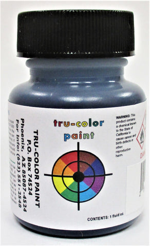 Tru-Color TCP-293 CE&I Chicago & Eastern Illinois Late Blue 1 oz Paint Bottle
