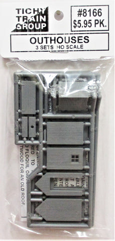 HO Scale Tichy Train Group 8166 Out House Kit pkg (3)