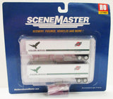 HO Scale Walthers SceneMaster 949-2503 Chicago & North Western Falcon Service Trailmobile 40' Trailers