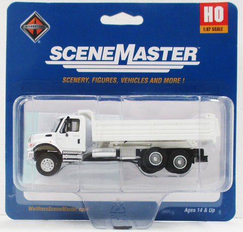 HO Scale Walthers SceneMaster 949-11660 International 7600 MOW 3 Axle Dump Truck
