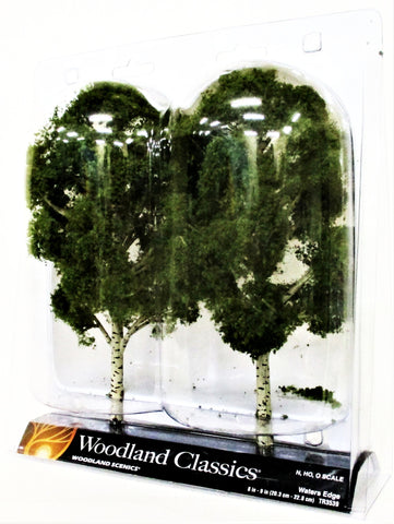 Woodland Classics Ready-Made Trees TR3539 Waters Edge - 2/pkg