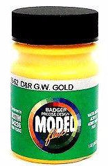 Badger Model Flex 16-62 D&RGW Yellow 1 oz Acrylic Paint Bottle