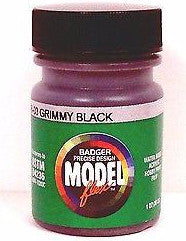 Badger Model Flex 16-03 Grimy Black 1 oz Acrylic Paint Bottle