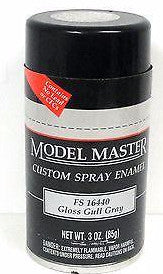 Model Master 1929 Gloss Gull Gray FS16440 3 oz Enamel Spray Can