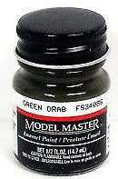 Model Master 1787 Green Drab 34086 1/2 oz Enamel Paint Bottle