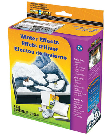Woodland Scenics SP4123 Scene-A-Rama Winter Effects/Snow Kit