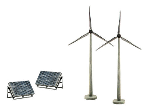 Woodland Scenics SP4448 Scene-A-Rama Alternative Energy Scene Setters