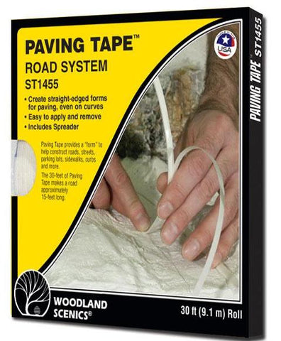 Woodland Scenics ST1455 Sub Terrain System Paving Tape 30' Roll