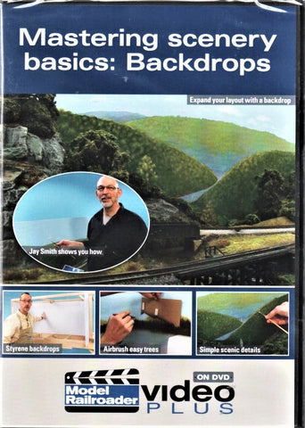 Kalmbach 15309 Mastering Scenery Basics: Backdrops Volume #1 DVD