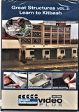 Kalmbach 15327 Model Railroader Great Structures Vol. 2: Learn to Kitbash DVD