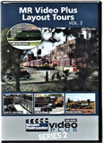 Kalmbach 15334 Model Railroader Video Plus Layout Tours Vol. #3 DVD
