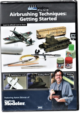 Kalmbach 15347 Model Railroader Airbrushing Techniques: Getting Started DVD