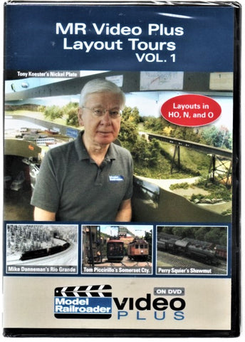Kalmbach 15316 Model Railroader Video Plus Layout Tours Vol. #1 DVD