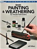Kalmbach 12484 Model Railroader's Basic Painting & Weathering for Model Railroaders by Jeff Wilson