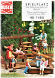 HO Scale Busch Gmbh & Co Kg 1485 Playground Equipment Kit