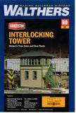 HO Scale Walthers Cornerstone 933-3071 Interlocking Tower Building Kit
