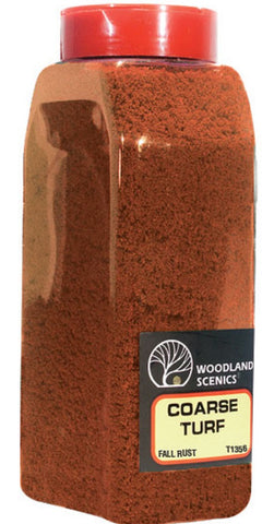 Woodland Scenics T1356 Coarse Turf Fall Rust Shaker 57.7 cu in (945 cu cm)