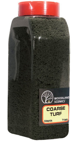 Woodland Scenics T1366 Coarse Turf Conifer Shaker 57.7 cu in (945 cu cm)