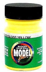 Badger Model Flex 16-112 Gloss Yellow 1 oz Acrylic Paint Bottle