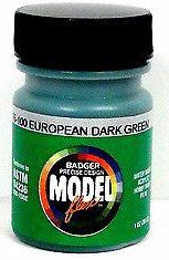 Badger Model Flex 16-100 European Dark Green 1 oz Acrylic Paint Bottle
