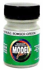 Badger Model Flex 16-92 SAC Bomber Green 1 oz Acrylic Paint Bottle