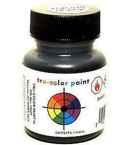 Tru-Color TCP-010 Black 1 oz Paint Bottle