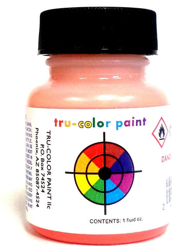 Tru-Color TCP-040 NH New Haven Red/Orange 1 oz Paint Bottle