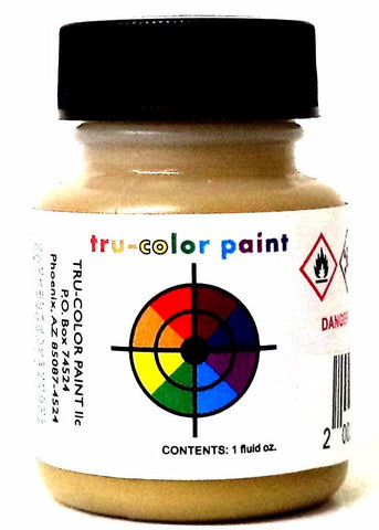 Tru-Color TCP-285 D&RGW Denver & Rio Grande Western Buff 1 oz Paint Bottle