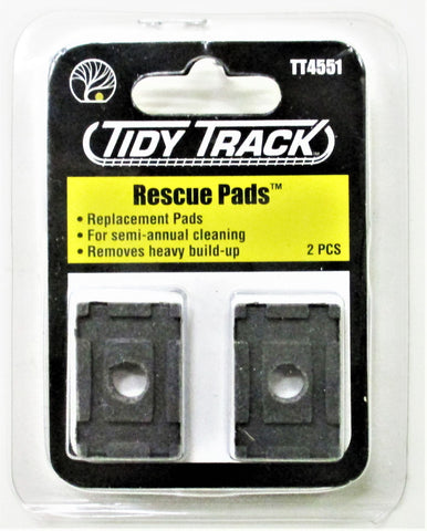 Woodland Scenics TT4551 Tidy Track Rescue Heavy Cleaning Replacement Pads (2)