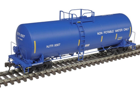 HO Atlas 20004998 New Jersey Transit NJTR 9307 Trinity 17,600-Gallon Tank Car