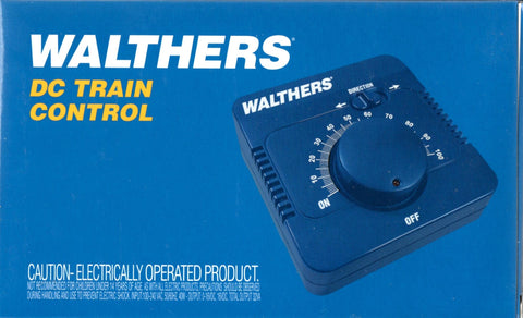 Walthers Control 942-4000 HO, S and O Scale DC Train Control 2 Amp Power Pack