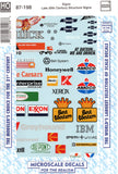 HO Scale Microscale 87-198 Late 20th Century Sign Decal Set #2