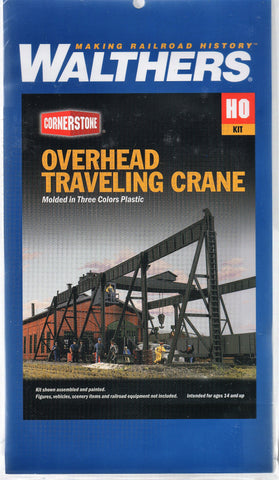 HO Scale Walthers Cornerstone 933-3102 Overhead Traveling Crane Kit