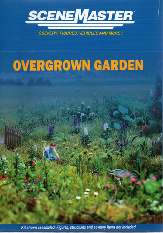 HO Scale Walthers SceneMaster 949-1117 Overgrown Garden Kit